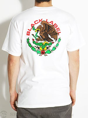 Black Label Super Mex Tee White MD
