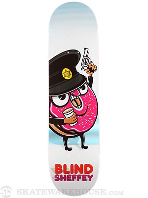 Blind Sheffey Donut Cop Deck  8.1 x 31.8