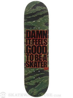 Blind Damn Tiger Camo Deck 8.25 x 31.5