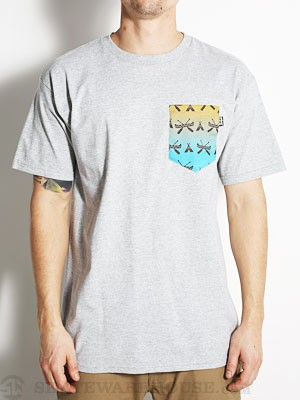 Bohnam Canoe Pocket Tee Heather Grey XL