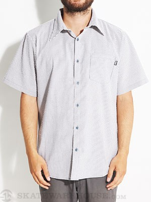 Bohnam Dover Woven S/S Shirt Black/White XL