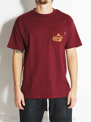 Bohnam Everton Pocket Tee Burgundy SM