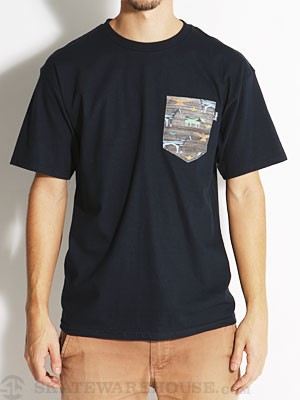 Bohnam Gavel Pocket Tee Navy LG