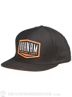 Bohnam Hitch Hat Black Adj.