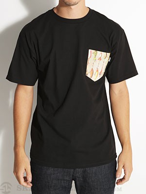Bohnam Lures Pocket Tee Black SM