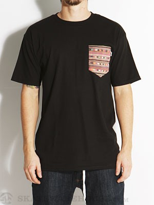 Bohnam Rio Pocket Tee Black LG