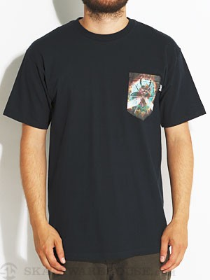 Bohnam Space Beatle Pocket Tee Navy MD