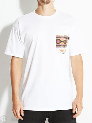 Bohnam Sahara Pocket Tee White MD