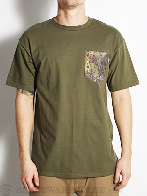 Bohnam Scales Pocket Tee Olive MD