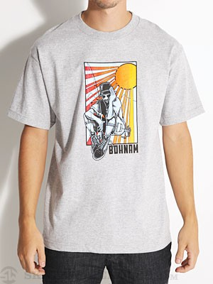 Bohnam Tribute Tee Heather Grey SM