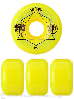 Bones SPF Miller Innersection Yellow Wheels
