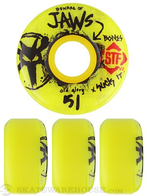 Bones STF Homoki Glory Yellow V2 Wheels
