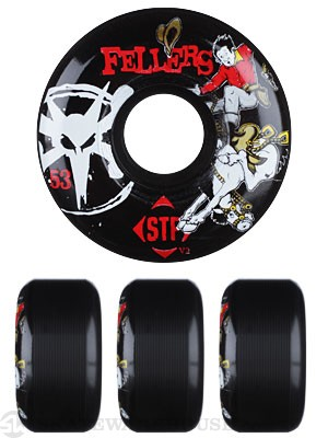 Bones STF Fellers Bronco Black V2 Wheels