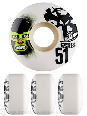 Bones SPF Lucha Libre Wheels 51mm
