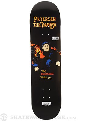 BLVD Petersen Golden Age Deck 8.125 x 31.6