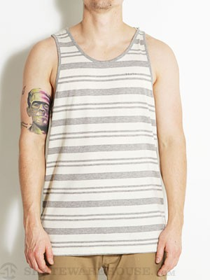 Brixton Abram Tank Hthr Grey/Cream MD