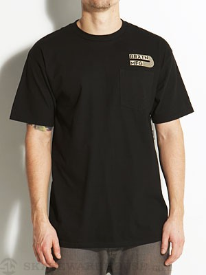 Brixton Acme Pocket Tee Black SM