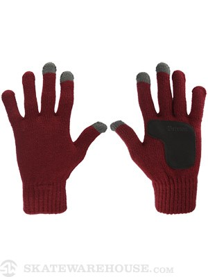 Brixton Butcher II Gloves  Burgundy