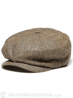 Brixton Brood Grey/Gold Tweed LG