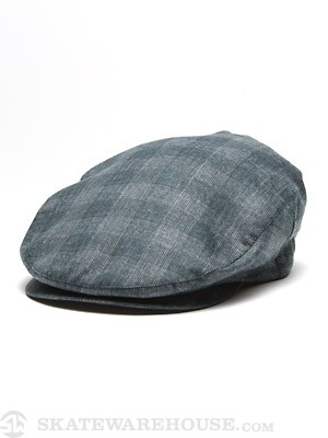 Brixton Barrel Hat Blue Plaid SM