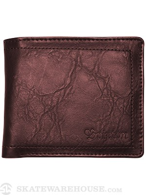 Brixton Chord Wallet Brown