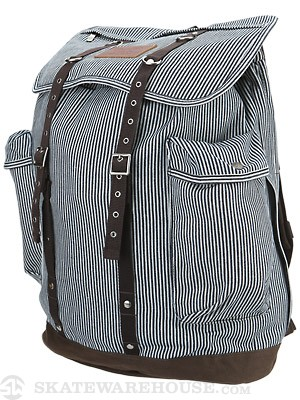 Brixton Canyon Backpack Navy Stripe