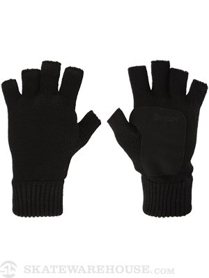 Brixton Cutter Gloves  Black/Black