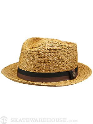 Brixton Delta Fedora Hat Copper MD
