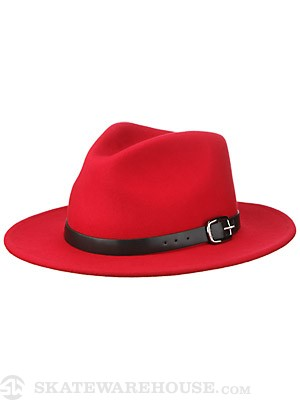 Brixton Deidre Girl's Hat Red SM