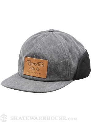 Brixton Flint Hat Black MD