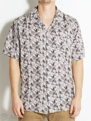 Brixton Griffin S/S Woven Shirt Cream/Charcoal MD