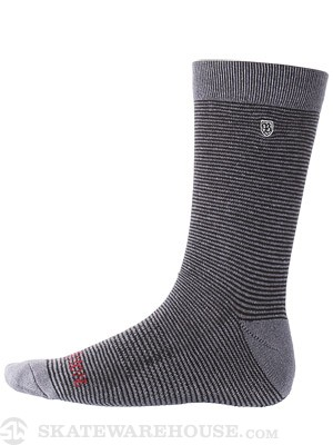 Brixton Gable Socks Black/Grey