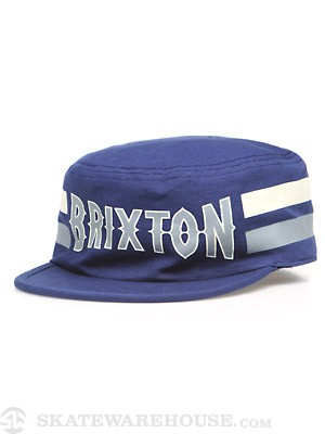 Brixton Grit Hat Blue MD