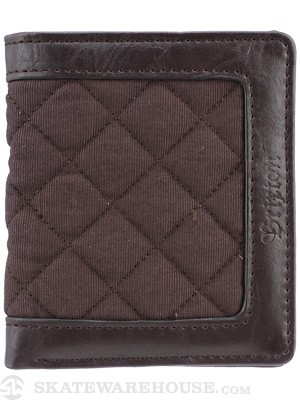 Brixton Guthrie Wallet Brown