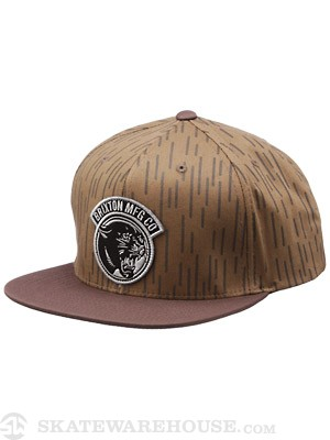 Brixton Growler Hat Rain Camo Adjust