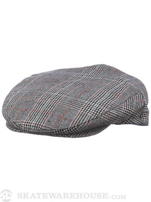 Brixton Hooligan Hat FA13 Brown Plaid SM
