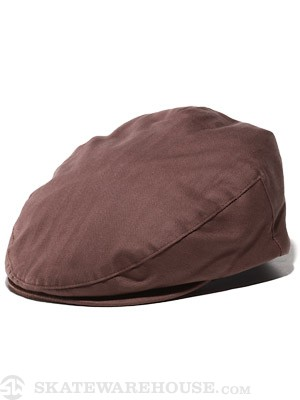Brixton Hooligan Hat Brown Twill LG