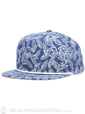 Brixton Henshaw Hat Blue/White Adjust