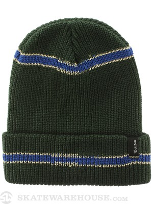 Brixton Kodiak Beanie Hunter Green/Stone/Royal