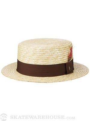Brixton Lena Fedora Girl's Hat Honey MD