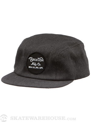 Brixton Mill II Hat Black/Grey LG