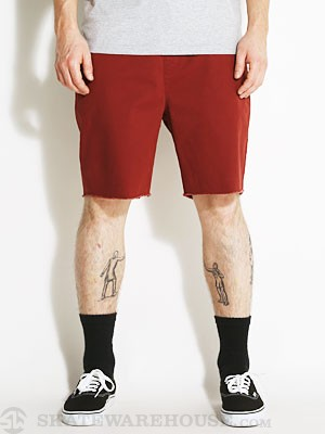 Brixton Madrid Shorts Burgundy SM