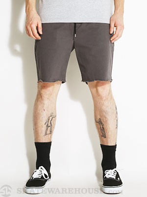 Brixton Madrid Shorts Charcoal MD