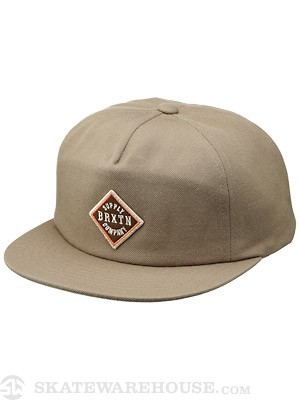 Brixton Morton Cap Hat Dark Olive Grey Adj.