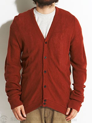 Brixton Miles Sweater Rust XL