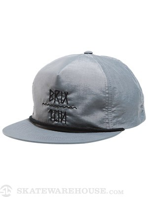 Brixton Morro Hat Grey Adjust