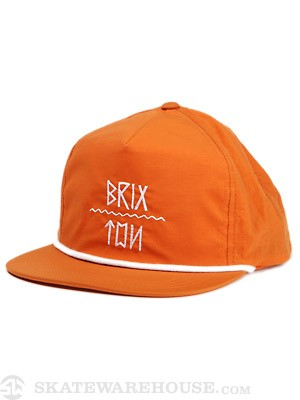 Brixton Morro Hat Orange Adjust