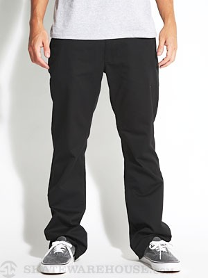 Brixton Post Chino Pants Black 28