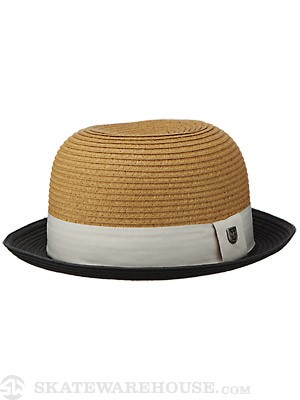 Brixton Pack Hat Black/Tan MD