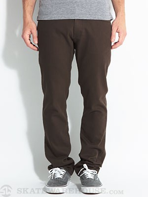 Brixton Reserve Twill Pants Brown 28